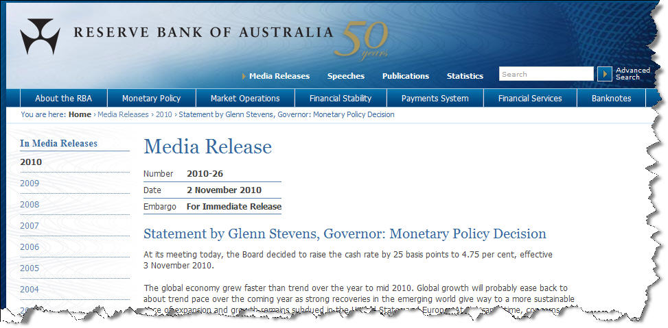 "RBA Rate Rise – ""Just in case"""