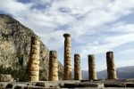 Ruins in the Sanctuary at Delphi