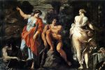 Hercules at the Crossroads by Carracci