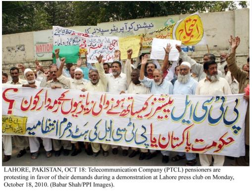 Financial Planning Perth : PTCL-pensioners-protest-at-Lahore-on-18-10-2010