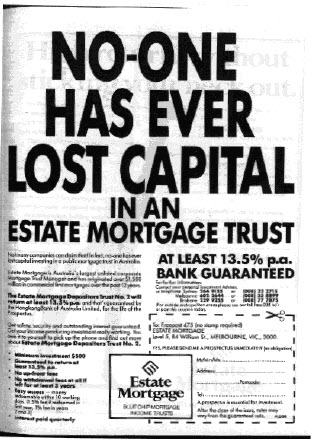 21-08-2012 Estate Mortgage advertisement