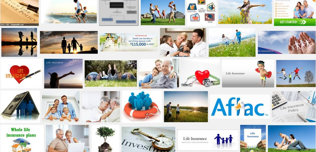 life insurance must be a cheery business just google life insurance to see all these happy people
